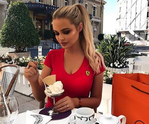 beauty, ice cream, and fashion image