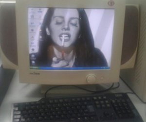 lana del rey, grunge, and computer image