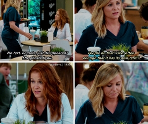 greys anatomy, arizona robbins, and jessica capshaw image