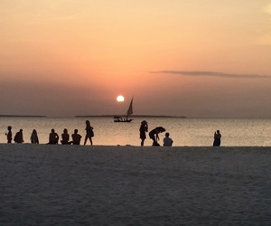holiday, sunset, and zanzibar image