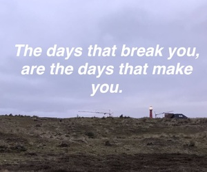 break, days, and done image