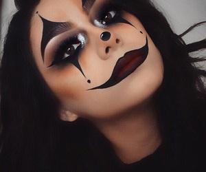 Halloween, makeup, and clown image