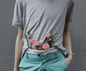 boy, aesthetic, and flowers image