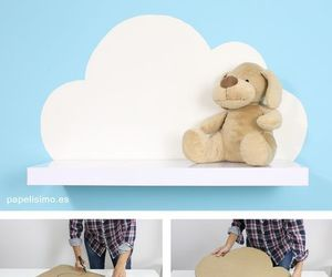 baby, cloud, and decor image