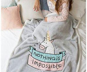unicorn and blanket image