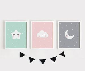 diy, decoration, and moon image