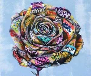 bouquet, couleurs, and dessin image