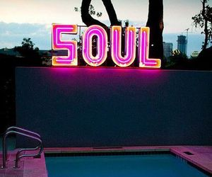 soul, pool, and pink image