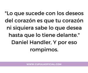 amor, daniel handler, and desamor image