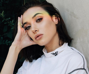 oliviaobrien, rainbow, and white image