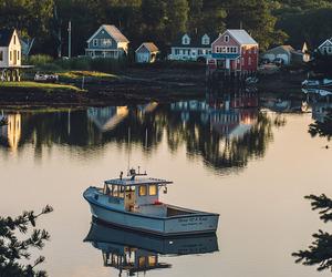 Maine, coast, and coastal image
