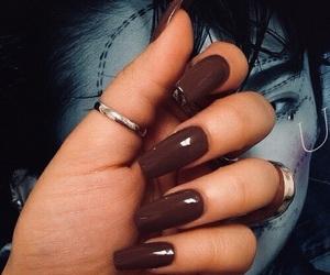 nails and brown image