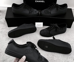 black and sneakers image