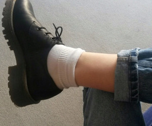 fashion, shoes, and grunge image