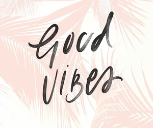 pink and good vibes image