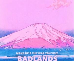 badlands, halsey, and pink image