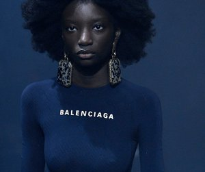 Balenciaga, runway, and shirt image