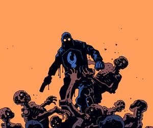 hellboy, dark horse comics, and trevor bruttenholm image