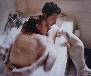 doggie, relationship goals, and showers image