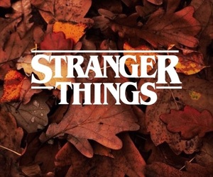 stranger things, autumn, and fall image