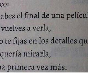 book, movie, and frases image