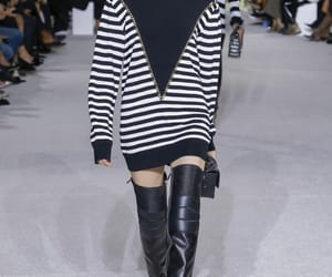 Balmain, hairstyle, and style image