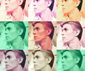 david bowie, rock and roll, and singer image