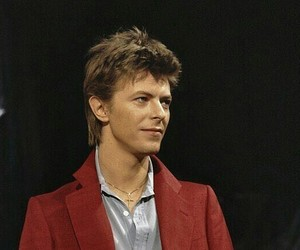david bowie, handsome, and music image