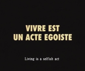 black, french, and quotes image