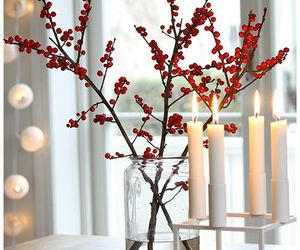 christmas, decoration, and candle image