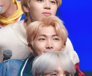 jimin, bts, and namjoon image