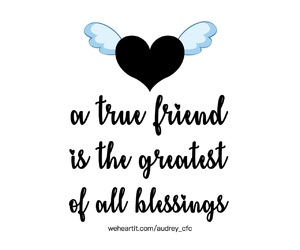 quotes, blessing, and friends image