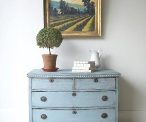 country living, dresser, and home decor image