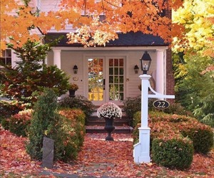autumn, country living, and farmhouse image
