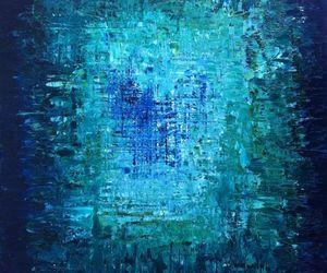 contemporary, mosaic, and original painting image