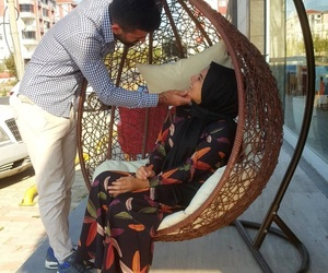 blogger, happiness, and muslim couple image