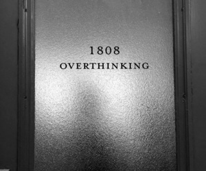 overthinking, aesthetic, and alternative image