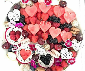 fruit, healthy, and valentine image