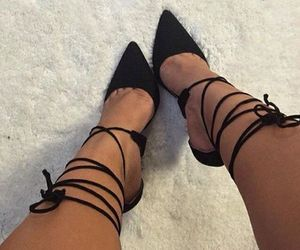 heels and legs image