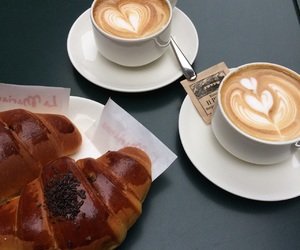 autumn, milano, and coffee image