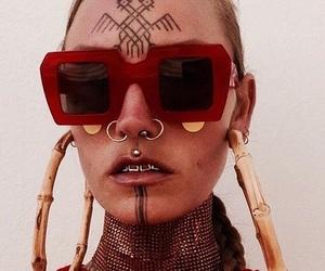 art, fashion, and tatoo image