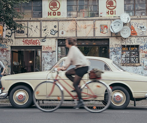 car, bike, and aesthetic image