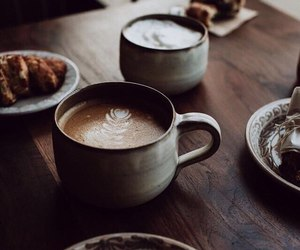 coffee, autumn, and delicious image