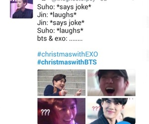 ???, bts, and laughts image