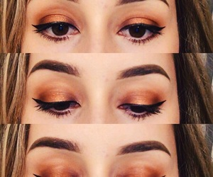 automne, fall, and makeup image