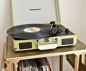 music, vinyl, and lp image