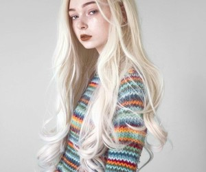 aesthetic, hair, and blonde image