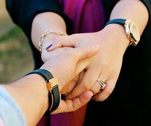 couple, love, and holding hands image