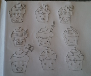 cupcakes, fanart, and adventure time image