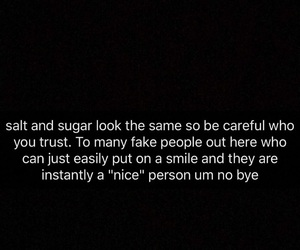 quote, fake friends, and snapchat image